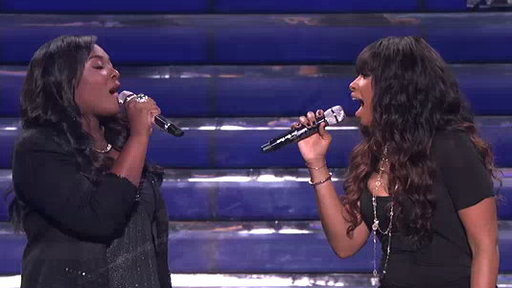 Candice Glover and Jennifer Hudson Performs