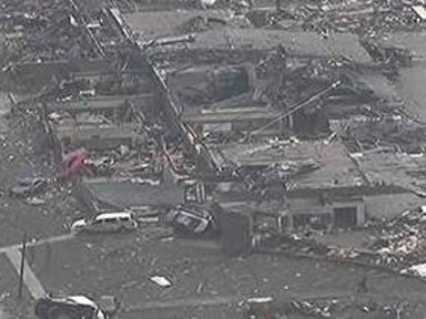 Massive Damage After Oklahoma Tornado
