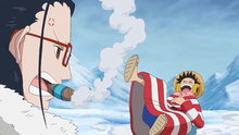 One Piece 596: (Sub) On the Verge of Annihilation! a Deadly Monster Comes Flying In!