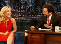 Late Night with Jimmy Fallon: Gillian Anderson Is a Fan of Beards