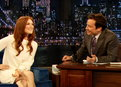Late Night with Jimmy Fallon: Julianne Moore Talks