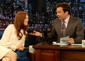 Late Night with Jimmy Fallon: Julianne Moore On Huey Lewis Love Songs and