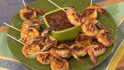Fire up the Grill for Shrimp Skewers, Rib Eye