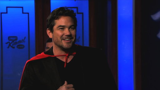 Dean Cain Learns About New Superman