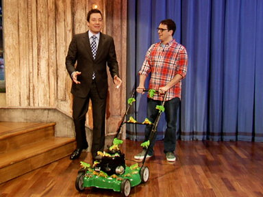 NBC - Justin Bieber Retweets: Frog Lawn Mower
