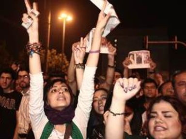 Iranians Pack Streets, Celebrate New President