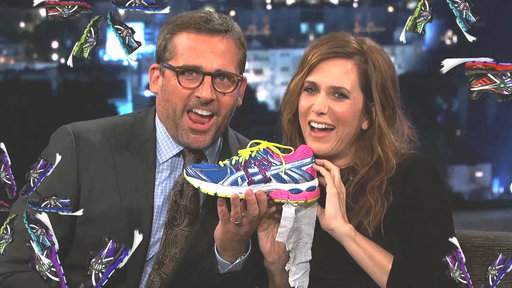 Steve Carell & Kristen Wiig for TP Striders