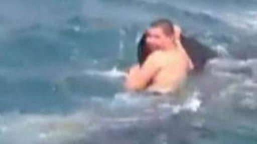 Teen Defends Hitching Ride On Shark's Back