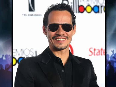 CelebTV - Marc Anthony Announces World Tour