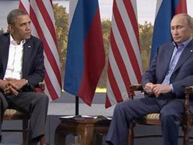 Obama Says He and Putin Have 'Differing Perspectives' On Syria