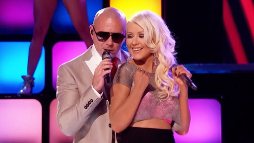 "Pitbull and Christina Aguilera: ""Feel This Moment"""