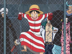 (Sub) Launching the Counter Attack! Luffy and Law's Great Escape! Image