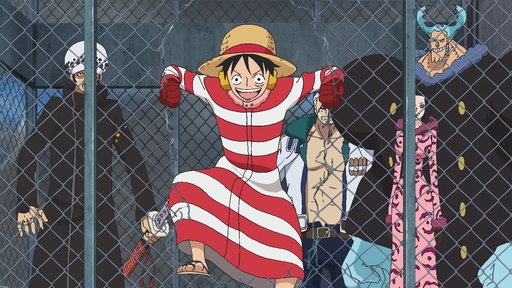 Launching the Counter Attack! Luffy and Law's Great Escape!