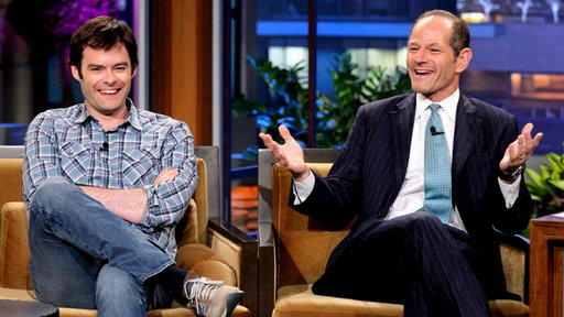 Eliot Spitzer Confronts Bill Hader