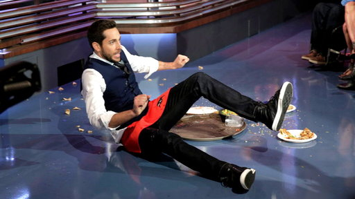 Zachary Levi: The Failed Waiter