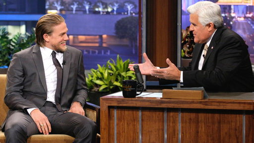Charlie Hunnam Busted On Motorcycle