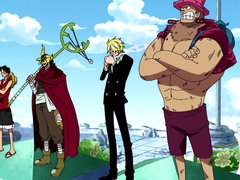 (Sub) Give Us Your Answer, Robin! The Straw Hats' Outcry! Image