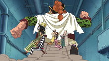One Piece 606: The Treacherous Vice Admiral! Demon Bamboo Vergo!