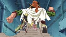 One Piece 606: The Treacherous Vice Admiral! Demon Bamboo Vergo!