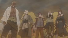 Naruto Shippuden 323: The Five Kage Assemble