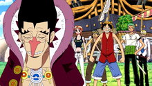 One Piece 217: The Captains Square Off! the Final Combat Round!