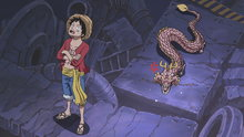 One Piece 611: A Small Dragon! Momonosuke Appears!