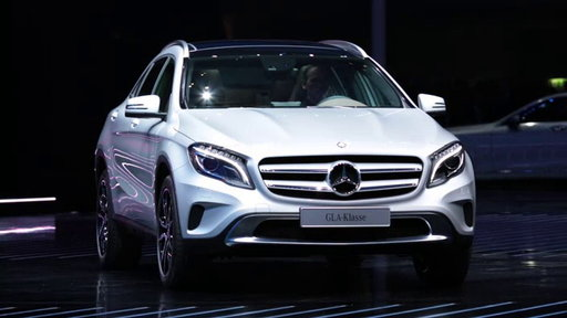 2015 Mercedes-Benz GLA at 2013 Frankfurt Auto Show On Edmunds.com Unveiled