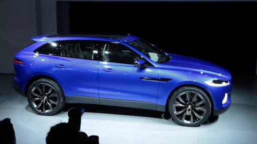 Jaguar C-X17 Concept at 2013 Frankfurt Auto Show On Edmunds.com Unveiled