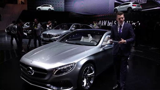 Mercedes-Benz Concept S-Class Coupe at 2013 Frankfurt Auto Show On Edmunds.com Unveiled