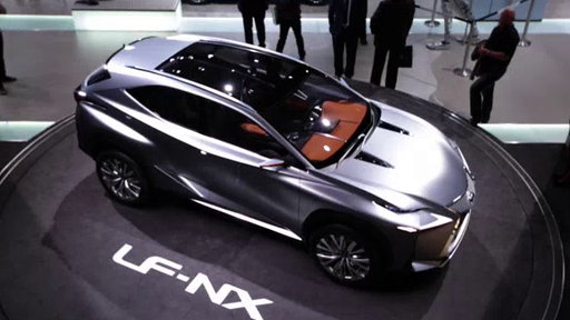 Lexus LF-NX Concept at 2013 Frankfurt Auto Show On Edmunds.com Unveiled