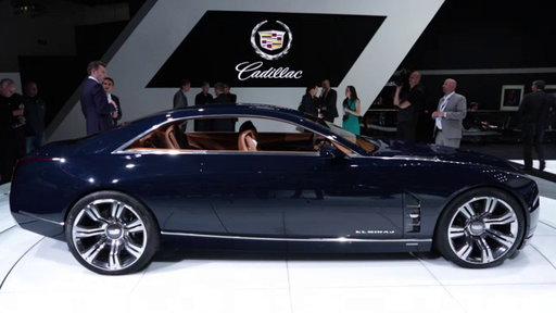 Cadillac Elmiraj Grand Coupe Concept at 2013 Frankfurt Auto Show On Edmunds.com Unveiled