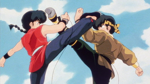 School Is a Battlefield! Ranma vs. Ryoga