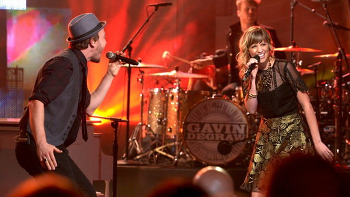 Cami Bradley and Gavin DeGraw, Live Finale Performance