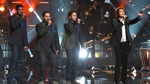 Forte and Josh Groban, Live Finale Performance