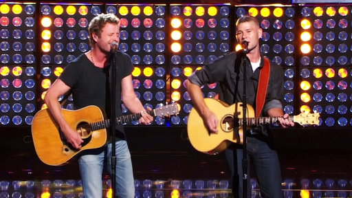 Jimmy Rose and Dierks Bentley, Live Finale Performance
