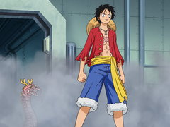 (Sub) Brownbeard in Grief! Luffy Lands a Furious Blow! image