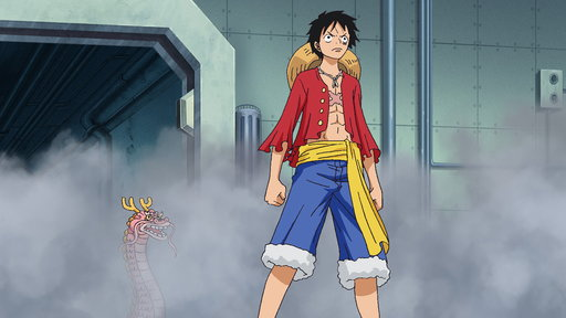 Brownbeard in Grief! Luffy Lands a Furious Blow!