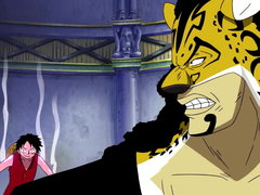 (Sub) Robin Freed! Luffy vs. Lucci, Showdown Between Leaders! image