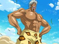 (Dub) White Hot! Toriko vs. the IGO President! Image