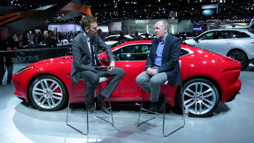 2015 Jaguar F-Type Coupe: Jaguar's Design Chief Ian Callum Talks to Edmunds.com