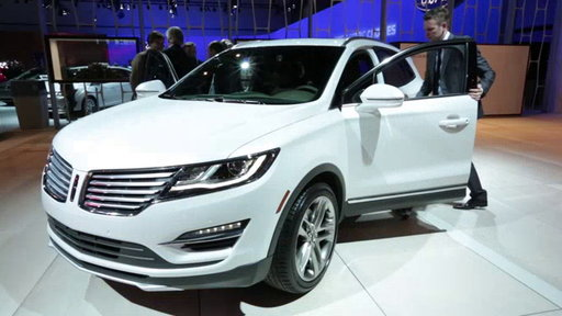2015 Lincoln MKC Unveiled: 2013 Los Angeles Auto Show