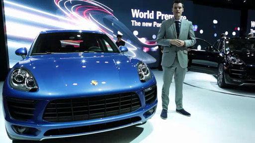 2015 Porsche Macan Unveiled: 2013 Los Angeles Auto Show
