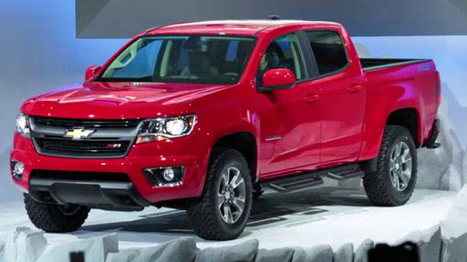 2015 Chevrolet Colorado Unveiled: 2013 Los Angeles Auto Show