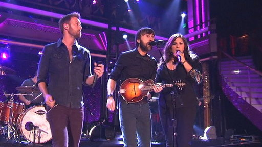 Lady Antebellum Live On DWTS