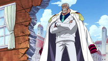 One Piece 313: Peace Interrupted! a Navy Vice Admiral With a Fist of Love!