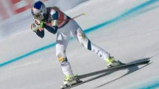 After Injury, Lindsey Vonn Hits the Slopes