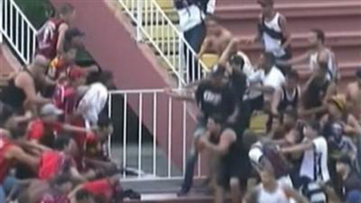 Riots Break Out in Brazil Soccer Stadium