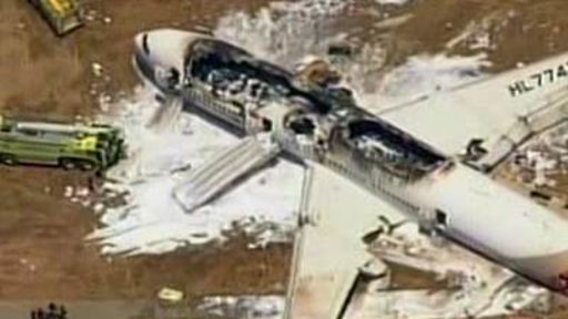 Chilling New Video Released from Asiana Plane Crash
