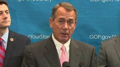 Boehner Slams GOP Opponents of Bipartisan Deal