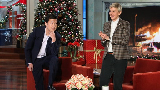 Ken Jeong's Holiday Card